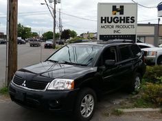 2011 Mitsubishi Endeavor SE Wagon has V6 engine, ABS brakes and AWD. Comes with: tubular roof rails, leather interior, Halogen fog lamps, A/C, complete power package: including power driver seat and adjustable lumbar, folding heated power mirrors, aluminum wheels, cargo cover, front bucket seats, 60/40 pass-thru rear bench seat and more. Contact Hughes Motor Products 416-252-1100 info@hughesmotorproducts.com
