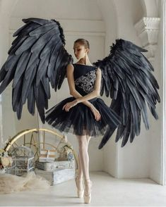 Capability dress and dance outfits capabilities on-trend styles for all those genres of interact. Ballet Girls, Ballet Dancers, Ballet Costumes, Dance Costumes, Halloween Costumes, Black Angel Costume, Black Swan Costume, Dancer Photography, Photography Studios