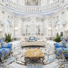 Villa Interior Design in Dubai, Palace in Dubai, Photo 14