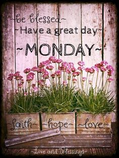 Have a blessed Monday! ❤️
