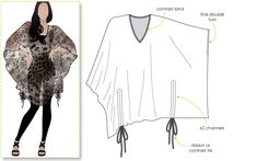 Quick & Easy styling - Kitty Kaftan with ties