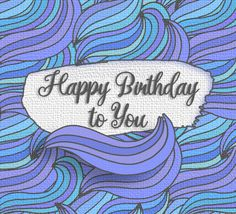 Whatsapp a sweet #HappyBirthday wish to your #birthday pal on the go with this #ecard.