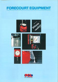 PCL - Forecourt Equipment mini catalogue from 1993.