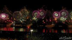 Rio de Janeiro, praia de Copacabana, reveillon 2016. O ponto alto da tradicional festa da virada do ano na praia de Copacabana, no Rio de Janeiro é a queima de fogos. Este é o registro de 2016, por...