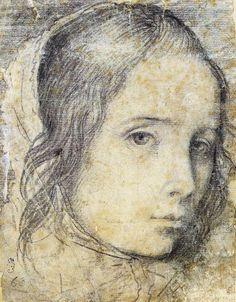 Head of a Girl - Diego Velazquez
