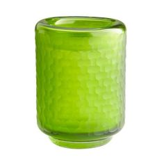 Cyan Design Small Lemon Lime Vase Lemon Lime 7.75 Inch Tall Glass Vase ($80) ❤ liked on Polyvore featuring home, home decor, vases, accents, green, green vase, green home decor, cyan design, glass vases and glass home decor