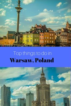Warsaw, Poland - top 20 places and things to do around the capital city. Visiting Warsaw's popular,  historic sites, old town, major parks and landmarks to visit in this fascinating city. l What to see and do in Warsaw, Poland. Highlights of Warsaw are on this post, click for more details http://travelphotodiscovery.com/top-20-places-to-visit-in-warsaw/