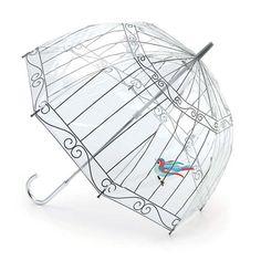 Paraply Birdcage Bird Lulu Guinness från Fulton @ Hipstore