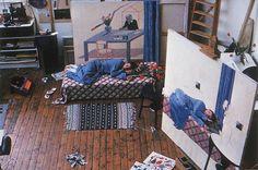 Sleepy Jones - sleepy painting