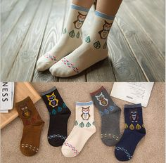 Best price on 5 x Cotton Socks Owl Print    Price: $ 19.80  & FREE Shipping    Your lovely product at one click away:   https://mrowlie.com/5-x-cotton-socks-owl-print/    #owl #owlnecklaces #owljewelry #owlwallstickers #owlstickers #owltoys #toys #owlcostumes #owlphone #phonecase #womanclothing #mensclothing #earrings #owlwatches #mrowlie #owlporcelain