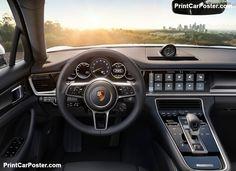 Porsche Panamera 4 E-Hybrid 2017 poster, #poster, #mousepad