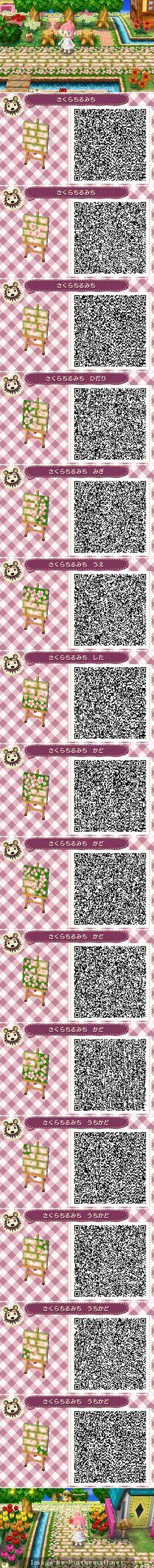 Sakura Blossom Pathway QR code Más