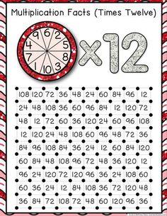 Multiplication 'Squares' Game