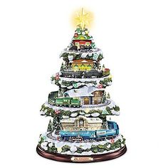 The Lionel Heritage Christmas Train Christmas Tree