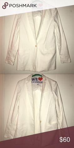 Banana Republic white blazer Banana Republic white blazer Banana Republic Jackets & Coats Blazers