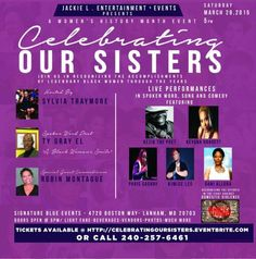 Celebrating our sisters @ DCURBANEVENTS.COM