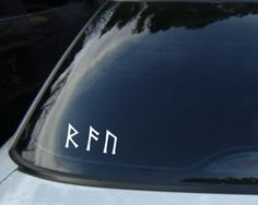 Set of 24 Elder Futhark Runes Vinyl Decals on Etsy