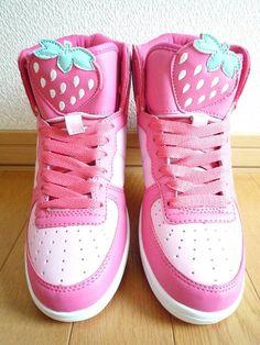 Strawberry Sneakers Aardbeien sneakers