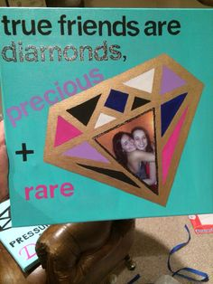 Adpi Canvas Art Best Friend Crafts Presents Birthday Gifts