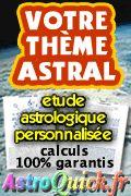 Etudes astrologiques AstroQuick - Thème natal et karmique: des études de qualité pour développer efficacement toutes vos potentialités.