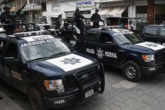 I know!  Let's vacation in Mexico!  Good gawd... MEXICO CITY — Federal police have taken control of 13 municipalities in southern Mexico where local police are suspected of links to organized crime and possibly to the case of 43 missing students,...