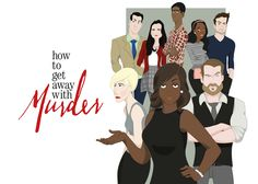 how to get away with murder - Fanart on Behance