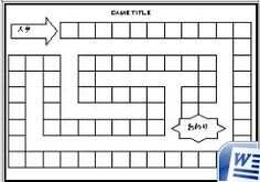 Make your own board game. Spanish Classroom, Teaching Spanish, Teaching Resources, Class Games, Math Games, Kid Games, Homemade Board Games, Make Your Own Game, Board Game Template
