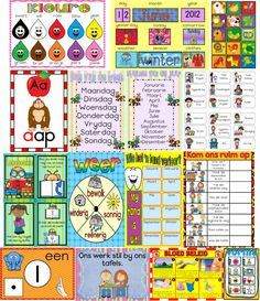This classroom starter pack is filled with 15 must haves for your Grade R Classroom! Have a look at our website to get yours today! Available in English and Afrikaans Alphabet School, Afrikaans Language, Weather Seasons, Classroom Rules, Tidy Up, Yesterday And Today, English Words, Months In A Year, Satire