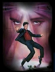 Elvis had the moves before Michael Jackson !