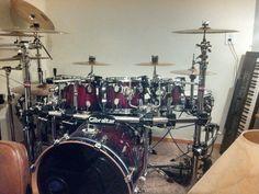 Pdp X7 Drum Set Mic D Drums Drums Percussion Snare Drum