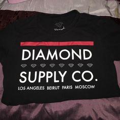 New diamond supply shirt New never been worn PacSun Tops Tees - Short Sleeve
