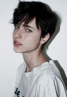 Looking for latest pixie hairstyles for black hair color? Here we have gathered images of Pixie Haircut for Black Hair that you will like! One thing for. Cute Hairstyles For Short Hair, Girl Short Hair, Pixie Hairstyles, Trendy Hairstyles, Short Hair Styles, Wedding Hairstyles, Tomboy Hairstyles, Boy With Black Hair, Short Hair Tomboy