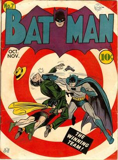 Cover Art by Bob Kane 1941