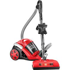 Dirt Devil Quick Power Cyclonic Canister Vacuum - Red - SD40025