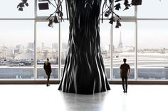 Electric Space Mathieu Lehanneur & Ana Moussinet with an amazing open view on the Eiffel Tower -2013 to Discover @PorteDeVersailles Paris