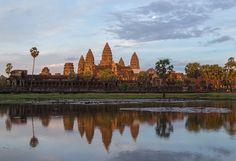 1. Angkor Wat -templo Indu- Camboya