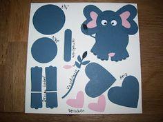 Juttas Bastelecke - das Kartenparadies: Punch Art Elefant