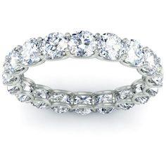 9 Best Eternity Band Images On Pinterest Diamond Wedding Bands