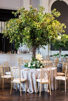 Impactful and Modern, Green and White Wedding at Sagamore Pendry in Baltimore Tree Centrepiece Wedding, Flower Centerpieces, Wedding Decorations, Table Decorations, Manzanita Tree Centerpieces, Quinceanera Centerpieces, Centrepieces, Wedding Reception Planning, Wedding Event Planner