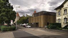 pestalozzi school sports building . yverdon-les-bains Rara | Ruffi Giandonati