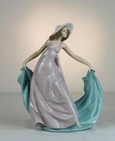 Lladro Figurines | Lladro Porcelain Figurine #5663: Spring Dance :: Figures & Sculptures ...