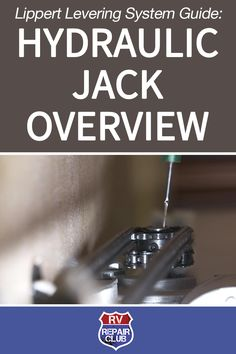 Get a quick overview of the hydraulic jacks on a Lippert leveling system. Learn how these easy-to-use jacks help level and stabilize your slide room. Camper Life, Rv Life, Rv Checklist, Rv Hacks, Rv Trailers, Rv Travel, Rv Camping, Rv Living, Motorhome