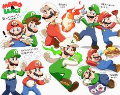 Bros hangin' out Super Mario Brothers, Super Mario Bros, Mundo Super Mario, Super Mario World, Super Smash Bros, Nintendo Game, Nintendo World, Mario Y Luigi, Mario Kart