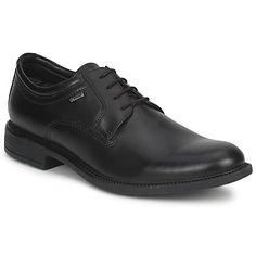 Derby-Schuhe Clarks FAWLEY LO GTX Schwarz (€ 118.99): Ein Derby in der Farbe schwarz, super trendig!Mit einem Schaft aus Leder, einem Innenfutter aus Textil, einer Innensohle aus Leder und einer Synthetiksohle steht die Qualität bei dieser Marke im Vordergrund.