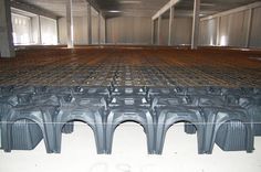MODULO the #plastic #formwork that allows the creation of a ventilated #foundation in commercial, residential and industrial #buildings