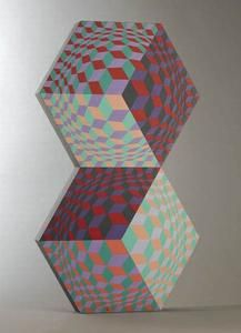 Kettes - (Victor Vasarely)
