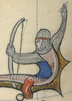 Medieval Archer, Merlin, Bnf, Illuminated Manuscript, Archery, Saint, Miniatures, Arrow, Europe