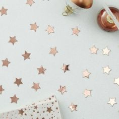 Rose Gold Star Shaped Confetti – The Original Party Bag Company