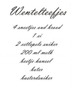 Applegarden | Wentelteefjes recept