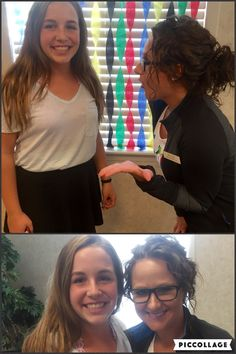 We are not sure who is more excited, Jessica one of our hygienists or Kaleigh who got her braces off last week. Either way, everyone is smiling and we love it. Your new smile is beautiful Kaleigh, enjoy!